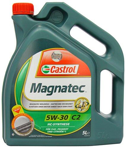 5 litri Castrol Magnatec 5W-30 C2 olio motore; specifico: ACEA C2; PSA B71 2290; Meets Fiat 9.55535-S1