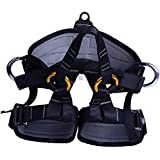 MagiDeal MagiDeal Harness Seat Belt Sitting Safety For Rock Climbing Rappelling Equipment Gear
