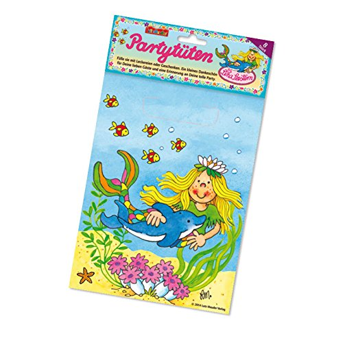 Supplies Seestern Party (Lutz Mauder Lutz mauder10124 Mermaid Geschenktüten (8-teilig))