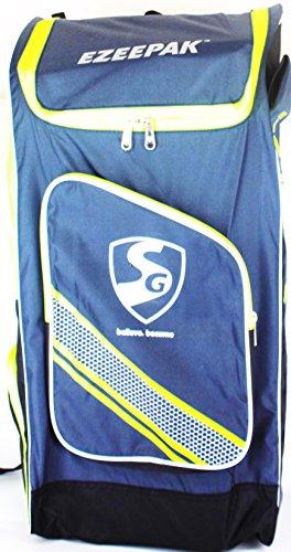 SG-Ezeepak-Polyster-Cricket-Kit-Bag-Navy-BlueBlackFloral-Green