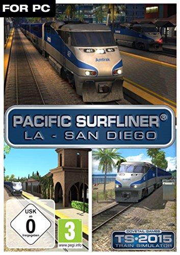 Train Simulator 2015 Pacific Surfliner LA San Diego