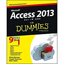 Access 2013 All-in-One For Dummies (For Dummies (Computers)) (Paperback) - Common