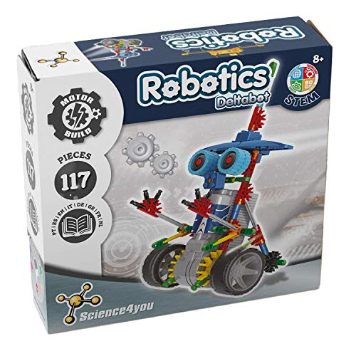 Science4you-Robotics Robotics Deltabot - Juguete Científico y Educativo Stem para Niños +8 Años,, Regular (605169)