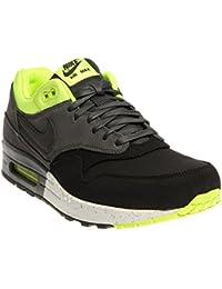 Nike Air Max 1 Premium Schuhe black anthracite volt   46