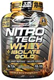 Muscletech Performance Series Nitro Tech Whey Plus Isolate Gold Bonus, Double Rich Chocolate, 1814 g