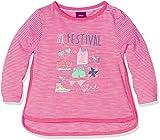 s.Oliver Baby-Mädchen Langarmshirt T-Shirt Langarm, Rosa (Dahlie Stripes 44G3), 92