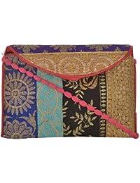 Utsav Women's Multicolour Sling Bag (Utsav 121)