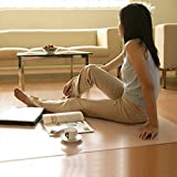 Dekorative Teppiche PVC zuschneidbar transparent Matratze Mats Tischdecke Kaffee Tisch wasserdicht...