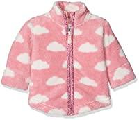 Kite Baby Girls 0-24m Lilliput Fleece Sweatshirt, Pink, 3-6 Months