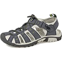 PDQ Mens Toggle & Touch Fastening Sports Trail Sandals