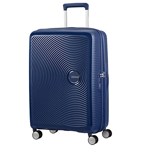AMERICAN TOURISTER Soundbox Spinner 67/24 Expandable Koffer, 67 cm, 71.5 L, Midnight Navy