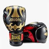 SKL Boxhandschuhe Punchinghandschuhe  Handschuhe 10oz Sparring Boxhandschuhe Training, für Erwachsene Männer Frauen PU Leder  schwarz weiß