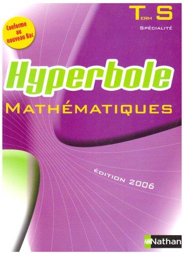 Mathématiques Tle S Spécialité : Programme 2002