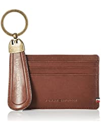 Tommy Hilfiger Ho TH Burnished CC Holder Shoe Horn Box, Bolsa y Cartera para Hombre, Marrón (Testa Di Moro) 2x13x20 cm (W x H x L)