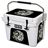 MightySkins Protective Vinyl Skin Decal for YETI Roadie 20 qt Cooler wrap cover sticker skins Ying and Yang