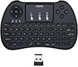 Aerb 2.4Ghz Wireless Mini Keyboard with Mouse Touchpad for PC, Pad, Xbox 360, PS3, Google Android TV Box, HTPC, IPTV (Black)