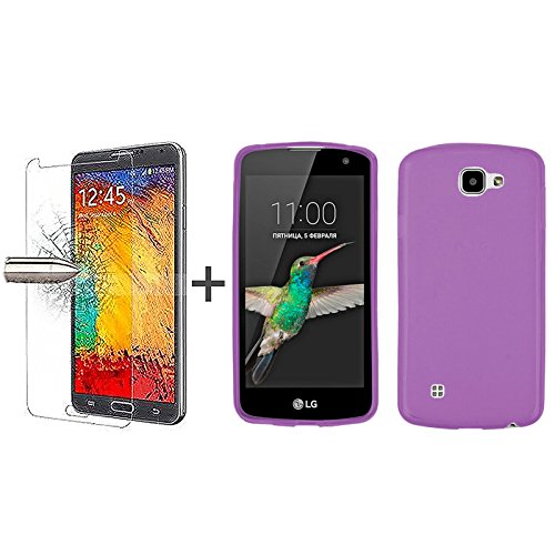 tbocr-pack-purple-tpu-silicone-gel-case-tempered-glass-screen-protector-for-lg-k4-k4-4g-k4-lte-soft-