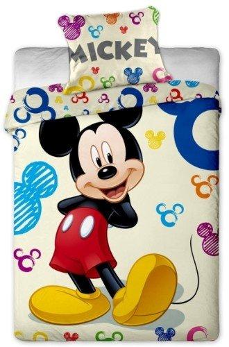 Conjunto de cama cubierta del edredón 100% algodón Disney Mickey