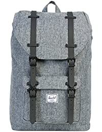 Herschel Little America Mid-Volume Backpack Rucksack 40.5 cm, crosshatch/black rubber