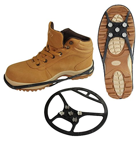 Schuh Spikes Schuhketten Gleitschutz Universal vers. Arten (43-48, Typ 4 (Schuhe Universal)
