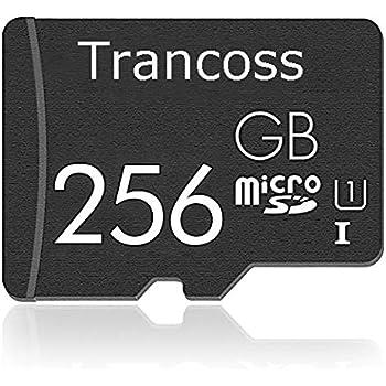 trancoss Tarjeta Micro SD Tarjeta de Memoria de 256 GB Memory Card para Teléfono, Tableta y PC (256gb)