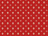 Möbelstoff Royal Soft Farbe 63 (rot, Druck, bedruckt) - moderner Digitaldruck (gemustert) Polsterstoff, Stoff, Bezugsstoff, Eckbank, Couch, Sessel, Hussen, Kissen