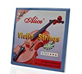 #3: ALICE Violin Strings E A D G for Violin 4/4 Strings A703