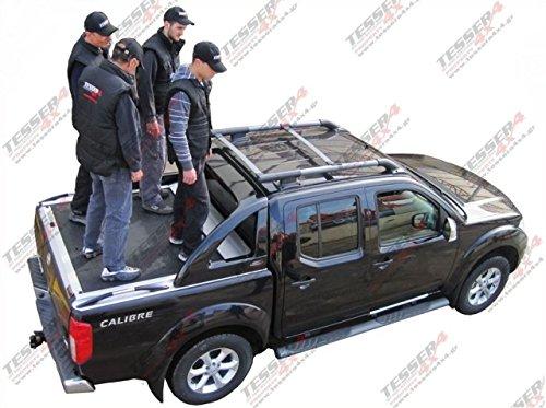 Nissan Navara D40165cm version pick-up alluminio laderaumabdeckung roll tettuccio Tesser 4x 4