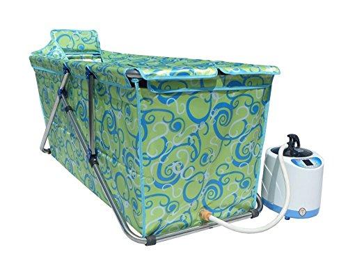 Vasca Da Bagno Pieghevole Adulti : Vbghb pieghevole per adulti da bagno vasca da bagno doccia facile