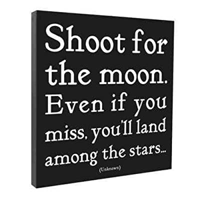 Shoot For the Moon Wall Canvas