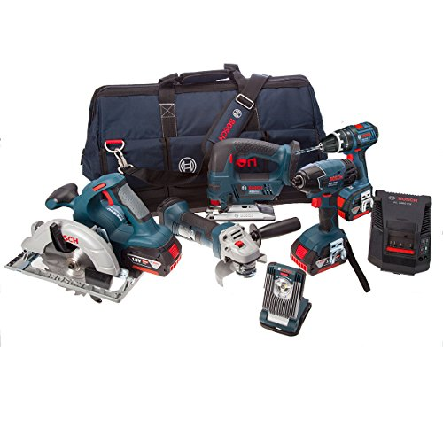 Used, Bosch Professional 18 V Power Tool Kit and Bag (3 x for sale  Delivered anywhere in UK