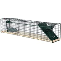 Moorland Safe 6042 - Trampa para animales vivos - 80x15x19 cm - Para ratas o ratones - Con 1 Entrada - Sin feromona