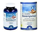Dr. Jacob's - Basenpulver (300 g) und Basentabletten (250 Tabletten) im Set