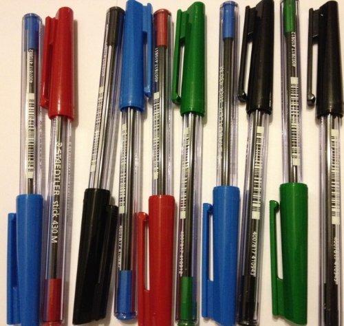 STAEDTLER 430M – Bolígrafos de varios colores (10 unidades)