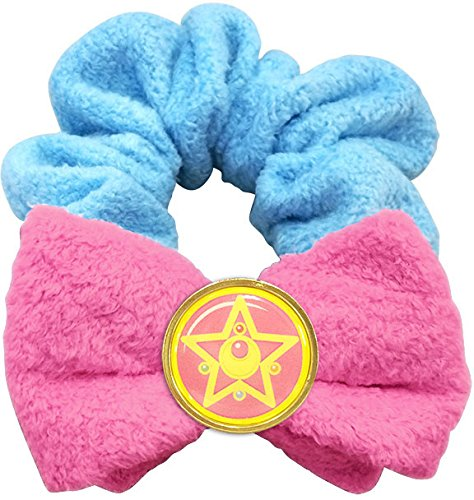 Sailor Moon Miracle Romance Bath Time Collection Hair Scrunchie for Hair / Wrist (Crystal Star Compact) by Hasepro