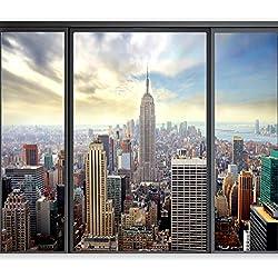 murando Papier peint intissé 350x256 cm Décoration Murale XXL Poster Tableaux Muraux Tapisserie Photo Trompe l'oeil New York 10110904-12