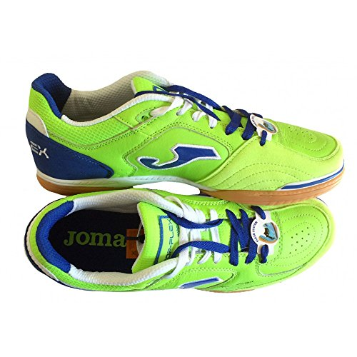 Scarpe da calcetto JOMA TOP FLEX 515 GREEN INDOOR Verde