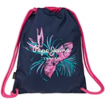 Pepe Jeans Honey Mochila Tipo Casual, 2.69 Litros, Color Azul