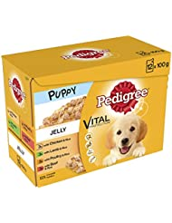 Pedigree Puppy Pouches Mixed Varieties in Jelly, 12 x 100 g