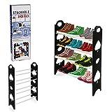 New 4zapatero estante de almacenamiento Rack soporte organizador 12pares zapatos