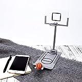Juego de arcade de baloncesto plegable,Mini Micro Basketball Hoop, Desktop Arcade Challenge para niños adultos,excelente juego para el escritorio de la oficina en casa, regalo de cumpleaños para niños