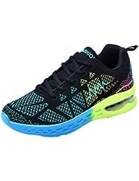 ALIKEEY La Mujer Transpirable Athletic Sport Zapatos Otoño - Invierno Zapatos De Correr Al Aire Libre Rebajas Doradas