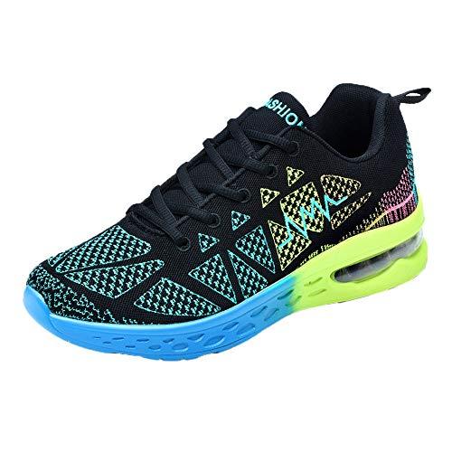 MMLC_Scarpe da Ginnastica Uomo Donna Corsa Sportive Fitness Running Palestra Sneakers Basse Casual All'aperto Scarpe Comode per Camminare Jogging