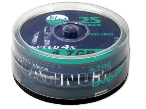 Platinum DVD+RW - 4.7 GB 4X - 1x25er Spindel (100603)