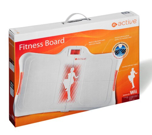 Wii Premium Fitness Board, weiss - orange E.A. Sports Active Edition
