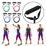 #5: HOME CUBE® 1 Pcs Pull String Extra Strong Body Building Training, Pull Rope Rubber Exerciser, Toning Tube - Random Color