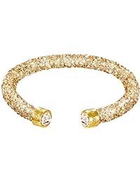 Swarovski Damen-Armreif Swarovski Crystaldust Bracelet Edelstahl Kristall gold Rundschliff   - 5255897