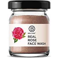 Brillare 100% Natural Real Rose Face Wash   For Ageing Skin   Moisturize & Revitalise the Skin  Contains Rose and…
