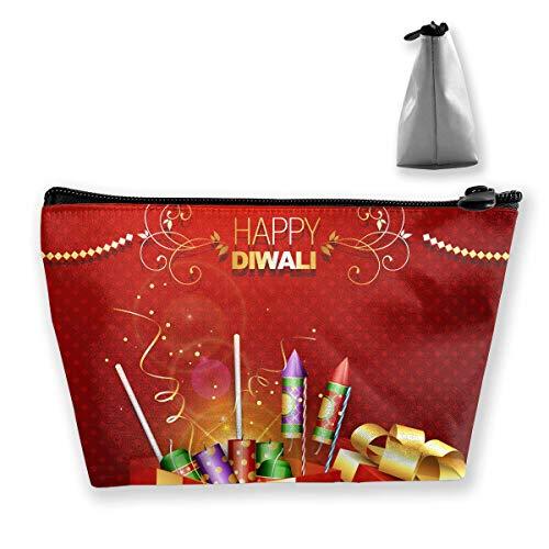 Crackers On Gift Box Women Makeup Bags Multifunktions-Kulturbeutel Organizer Travel Wash Lagerung (Trapez)