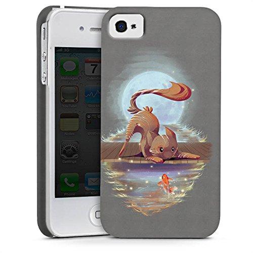 Apple iPhone X Silikon Hülle Case Schutzhülle Fuchs Braun Süß Premium Case glänzend